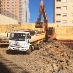 Locação de caminhão basculante sp